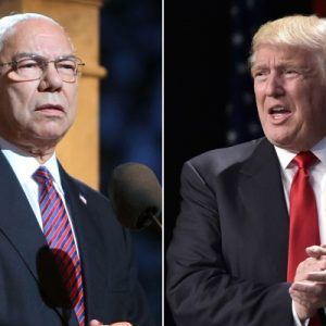 "Former Secretary of State and retired four-star Gen. Colin Powell, who served under three Republican presidents, called Donald Trump ""a national disgrace"" and an ""international pariah"" in a personal email, BuzzFeed News reports. Powell wouldn't elaborate, but said he was ""not denying"" the report. Breaking News at Newsmax.com http://www.newsmax.com/#ixzz4KFAM8Dby Urgent: Do You Back Trump or Hillary? Vote Here Now!"